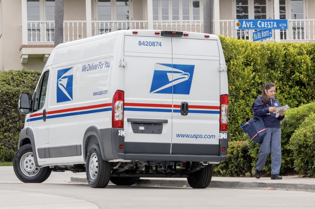 USPS Mail Van