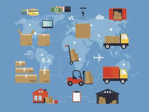 Supply Chain Graphic